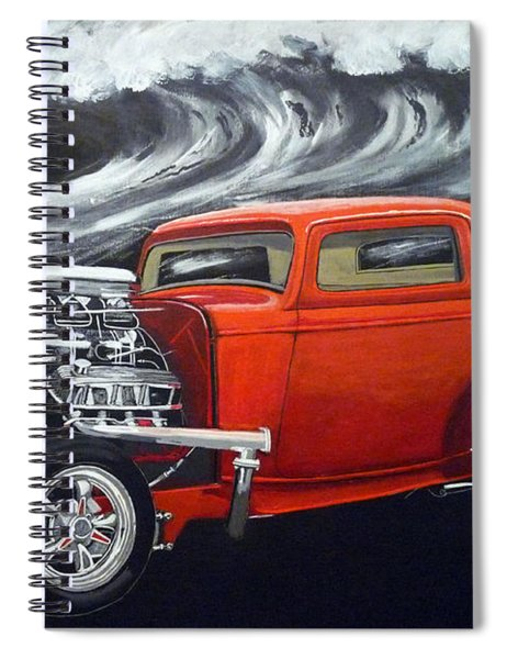 The Little Deuce Coupe Spiral Notebook