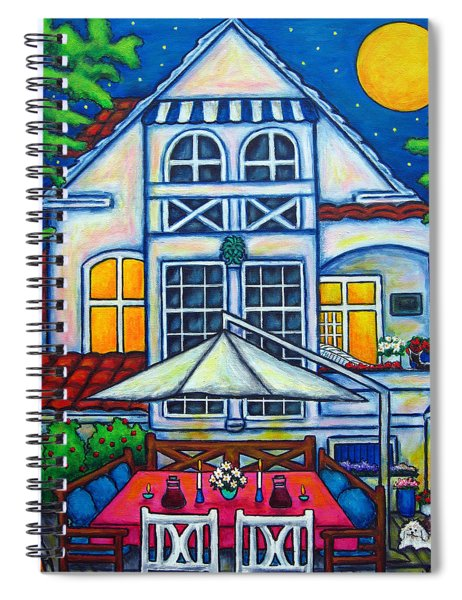 The Little Festive Danish House Spiral Notebook