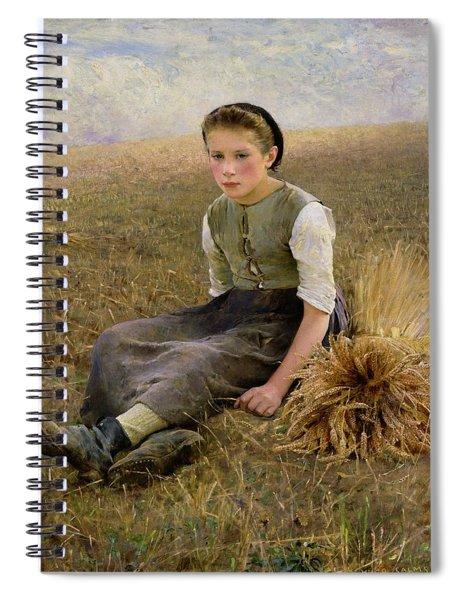 The Little Gleaner Spiral Notebook