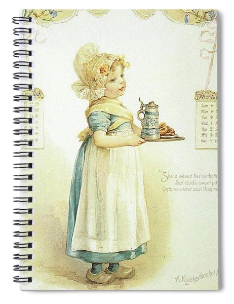 The Little Maid Spiral Notebook