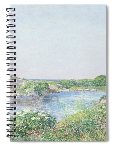 The Little Pond, Appledore Spiral Notebook