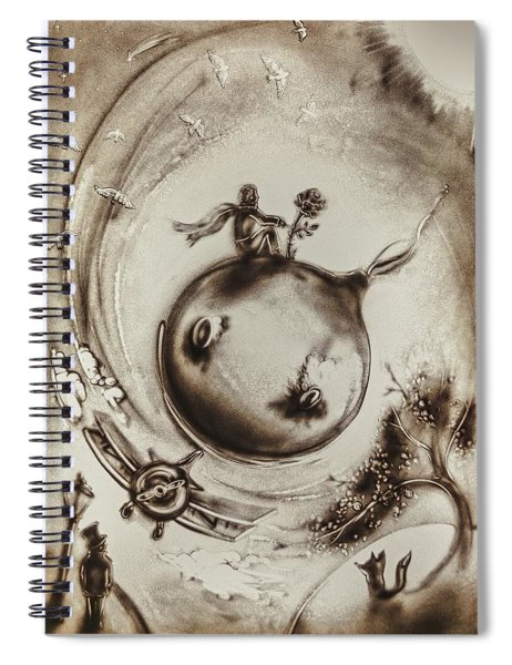 The Little Prince Spiral Notebook