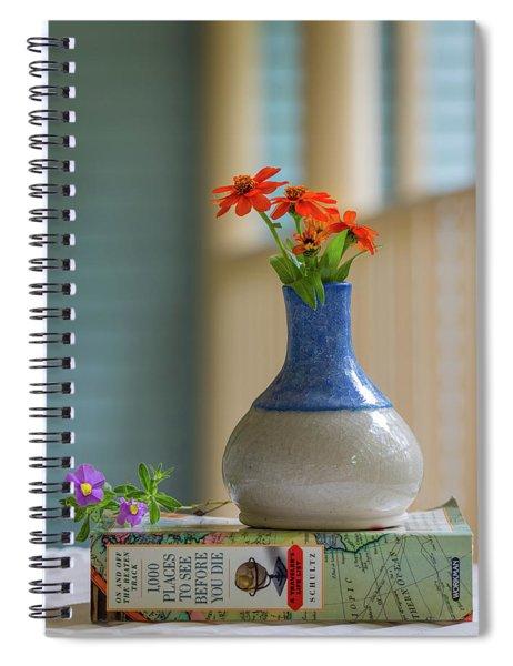 The Little Vase Spiral Notebook
