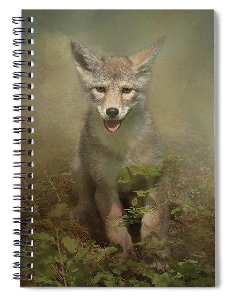 The Littlest Pack Member Spiral Notebook