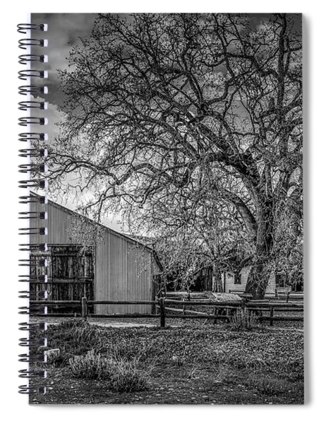 The Livery Stable And Oak Spiral Notebook
