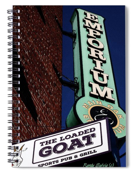 The Loaded Goat Spiral Notebook