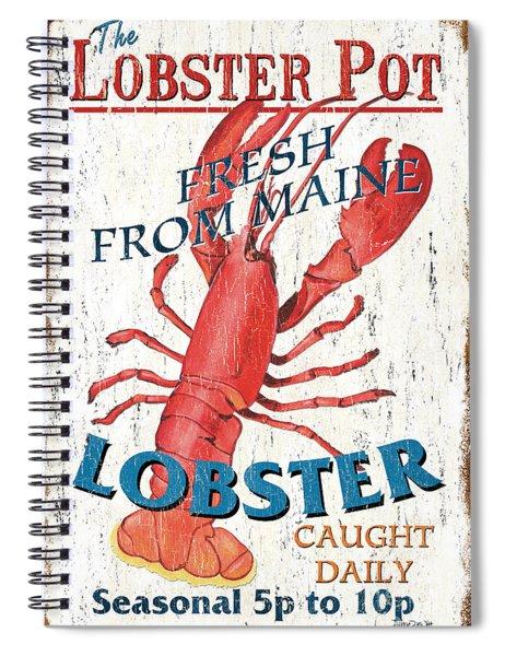 The Lobster Pot Spiral Notebook