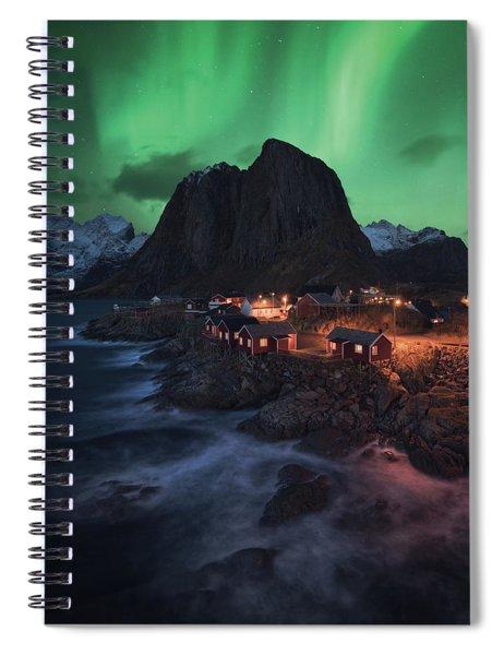 The Lofoten Dream Spiral Notebook