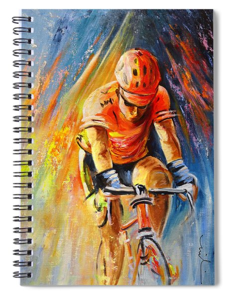 The Lonesome Rider Spiral Notebook