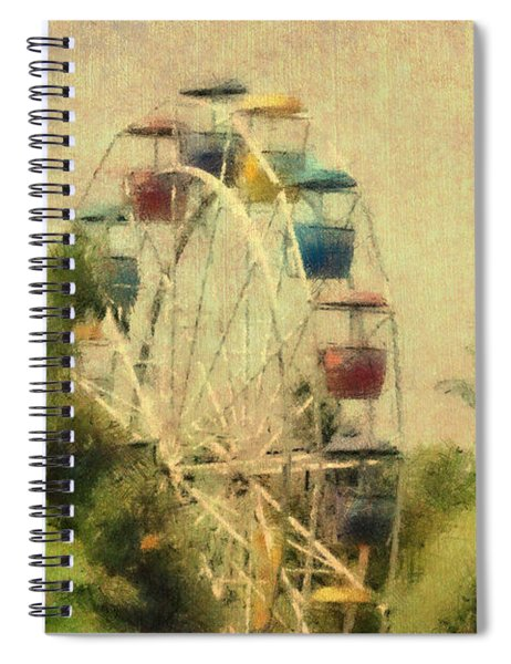 The Lover's Ride Spiral Notebook