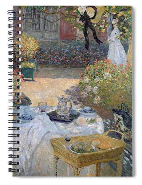 The Luncheon Spiral Notebook