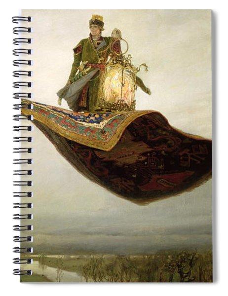 The Magic Carpet Spiral Notebook