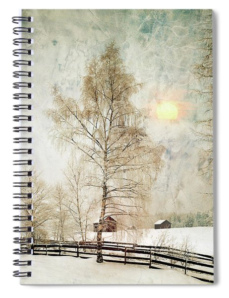 The Magic Of Winter Spiral Notebook