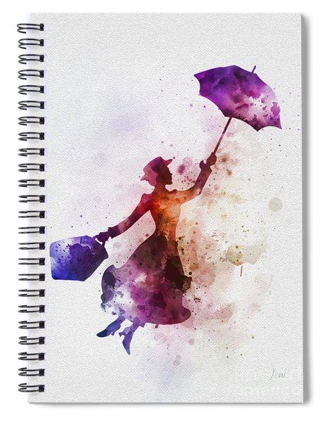 The Magical Nanny Spiral Notebook