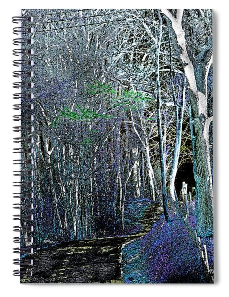 The Magical Woods Spiral Notebook