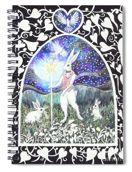 The Magician Spiral Notebook