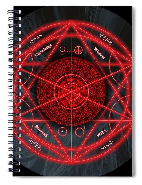 The Magick Circle Spiral Notebook