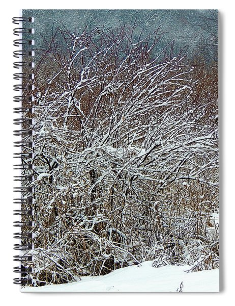 The Magick Of Snow Spiral Notebook