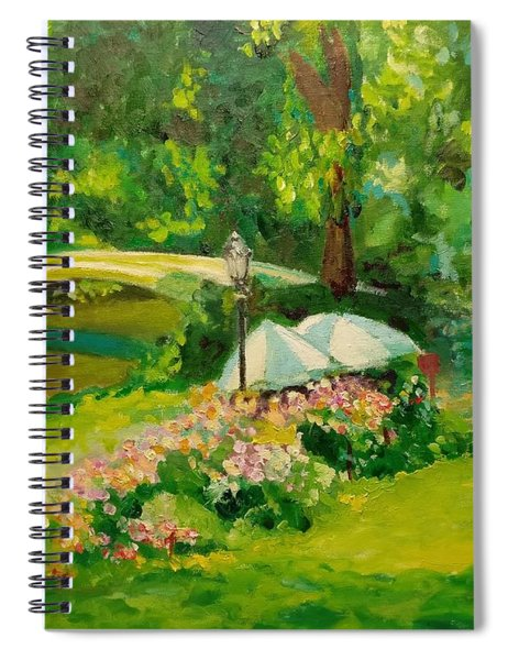 The Magnificent Bow Bridge Spiral Notebook