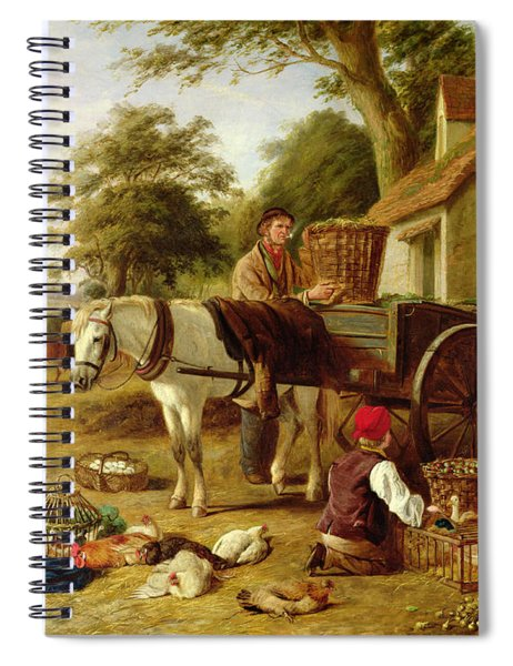 The Market Cart Spiral Notebook