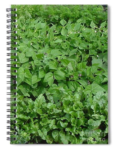 The Market Garden Portrait Spiral Notebook