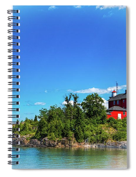 The Marquette Harbor Light Station Spiral Notebook