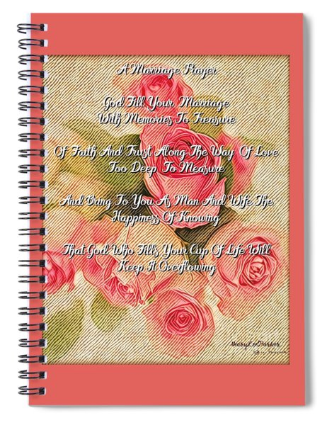 The  Marriage Prayer Spiral Notebook