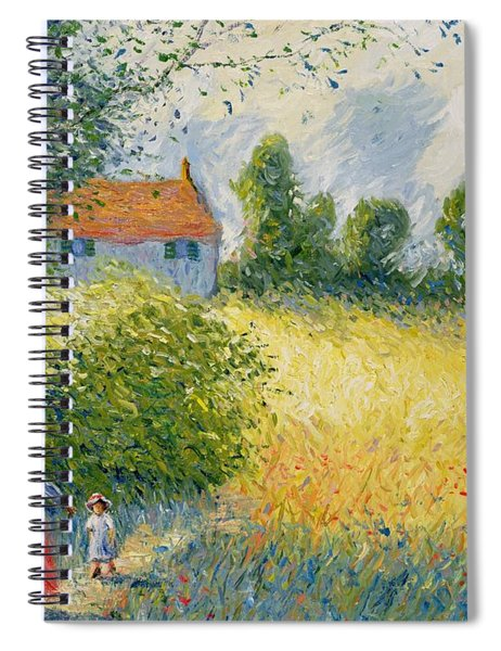 The Meadow Path  Spiral Notebook