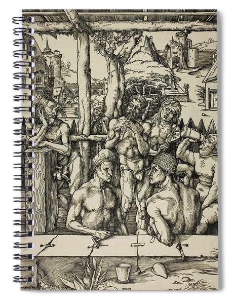 The Men's Bath Spiral Notebook