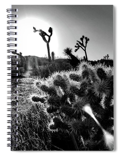 Merciless, Black And White Spiral Notebook