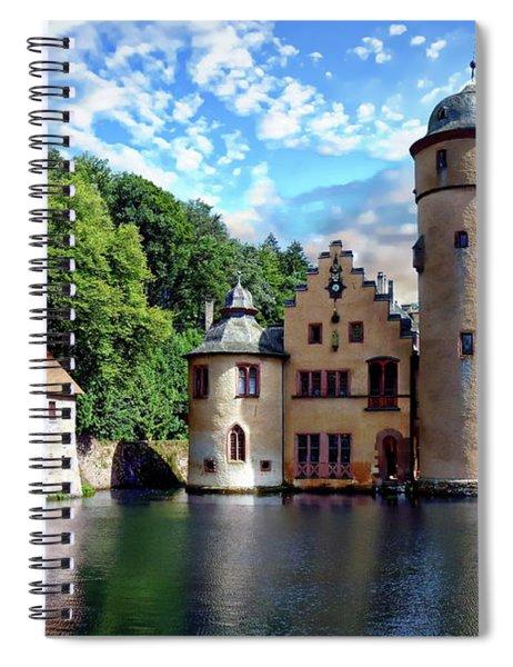 The Mespelbrunn Castle Spiral Notebook