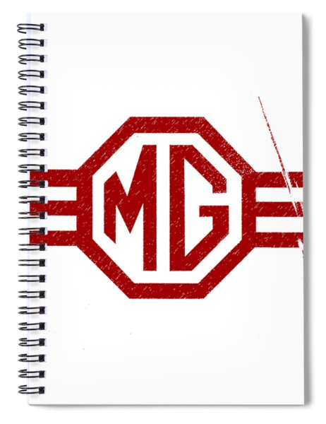 The Mg Sign Spiral Notebook