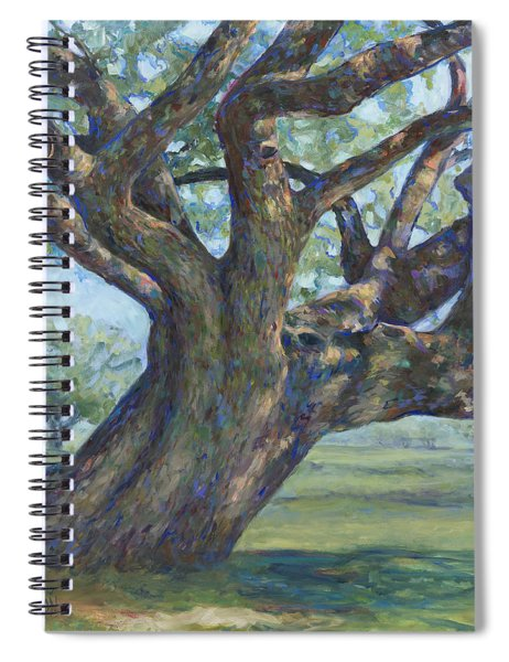 The Mighty Oak Spiral Notebook