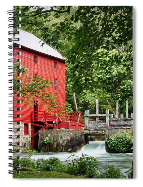 The Mill At Alley Spring Spiral Notebook