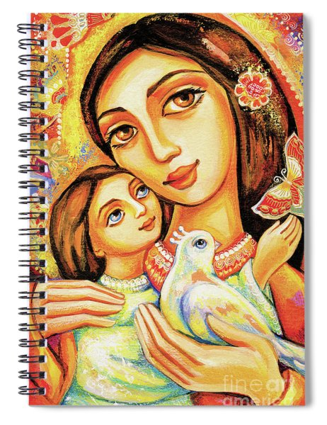 The Miracle Of Love Spiral Notebook