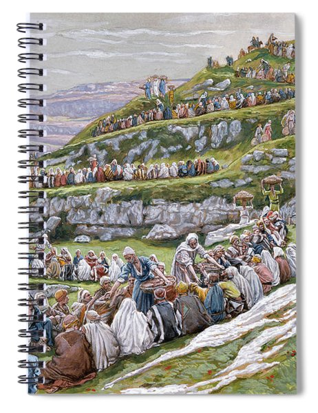 The Miracle Of The Loaves And Fishes Spiral Notebook