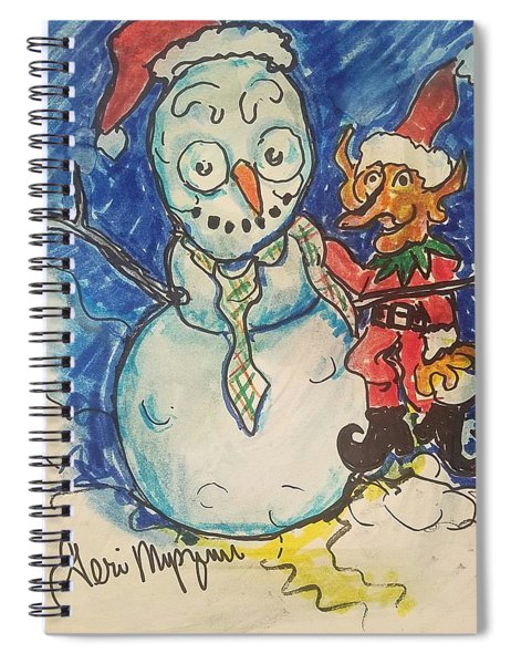 The Misbehaving Pixie Spiral Notebook