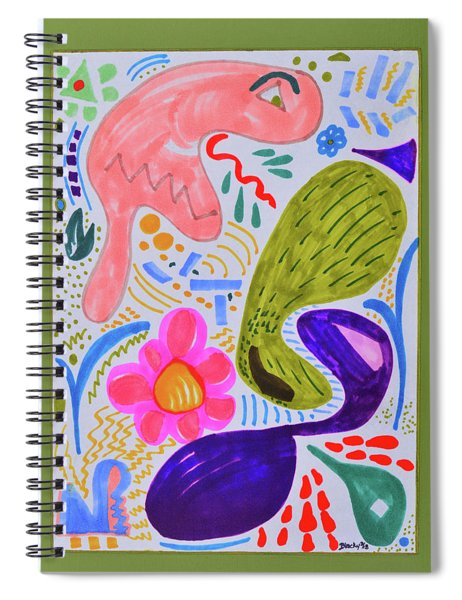 The Misunderstood Pickle Spiral Notebook