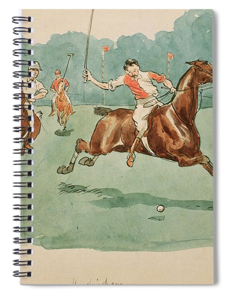 The Month Of June  Polo Spiral Notebook