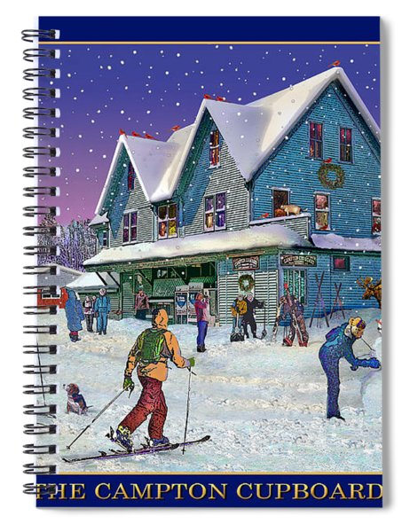 The Morning After At Campton New Hampshire Spiral Notebook