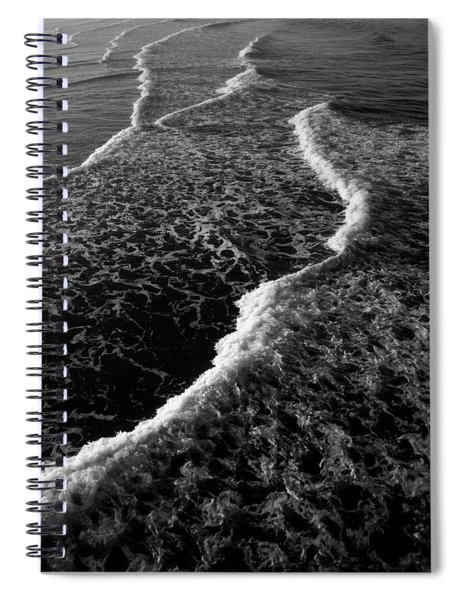 The Morning Waves Spiral Notebook