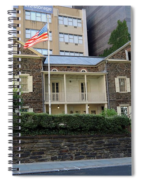The Mount Vernon Hotel Museum  Formerly The Abigail Adams Smith Museum Spiral Notebook