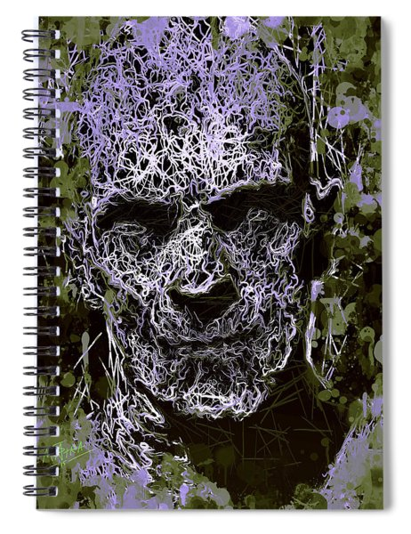The Mummy Spiral Notebook