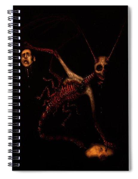 The Murder Bug - Artwork Spiral Notebook