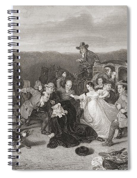 The Murder Of Archbishop Sharp. James Spiral Notebook