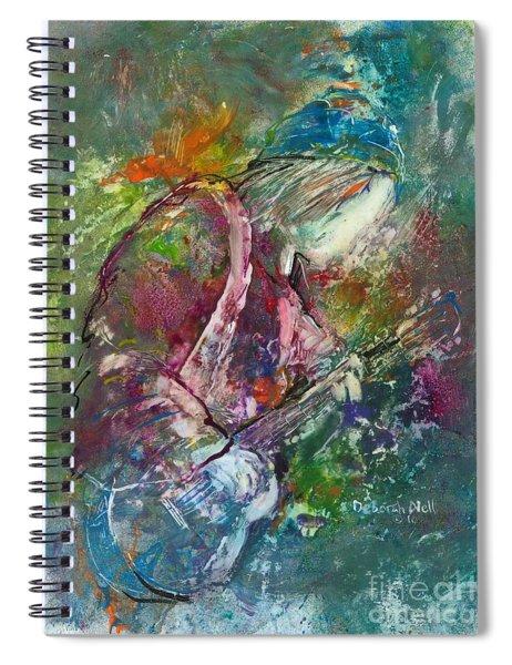 The Music Maker Spiral Notebook