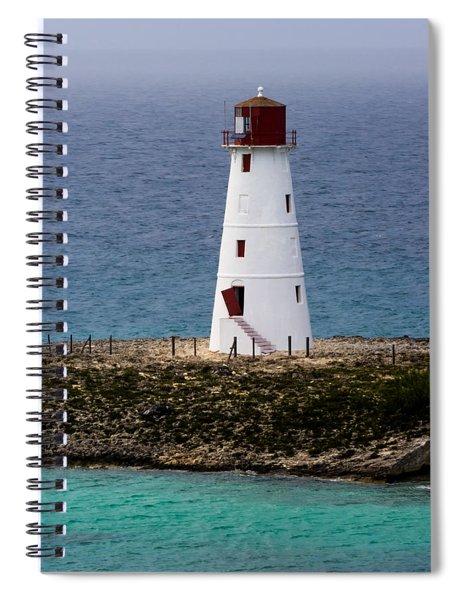 The Nassau Lighthouse Spiral Notebook by Ed Gleichman