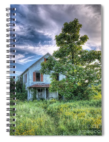 The Nathaniel White Farm House Spiral Notebook