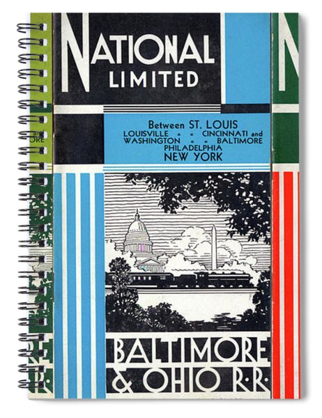 The National Limited Collage Spiral Notebook
