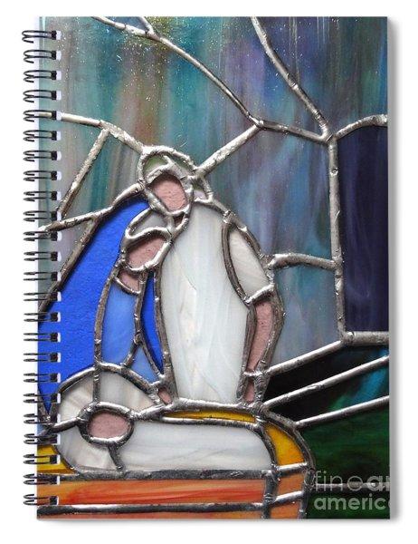 The Nativity  Spiral Notebook